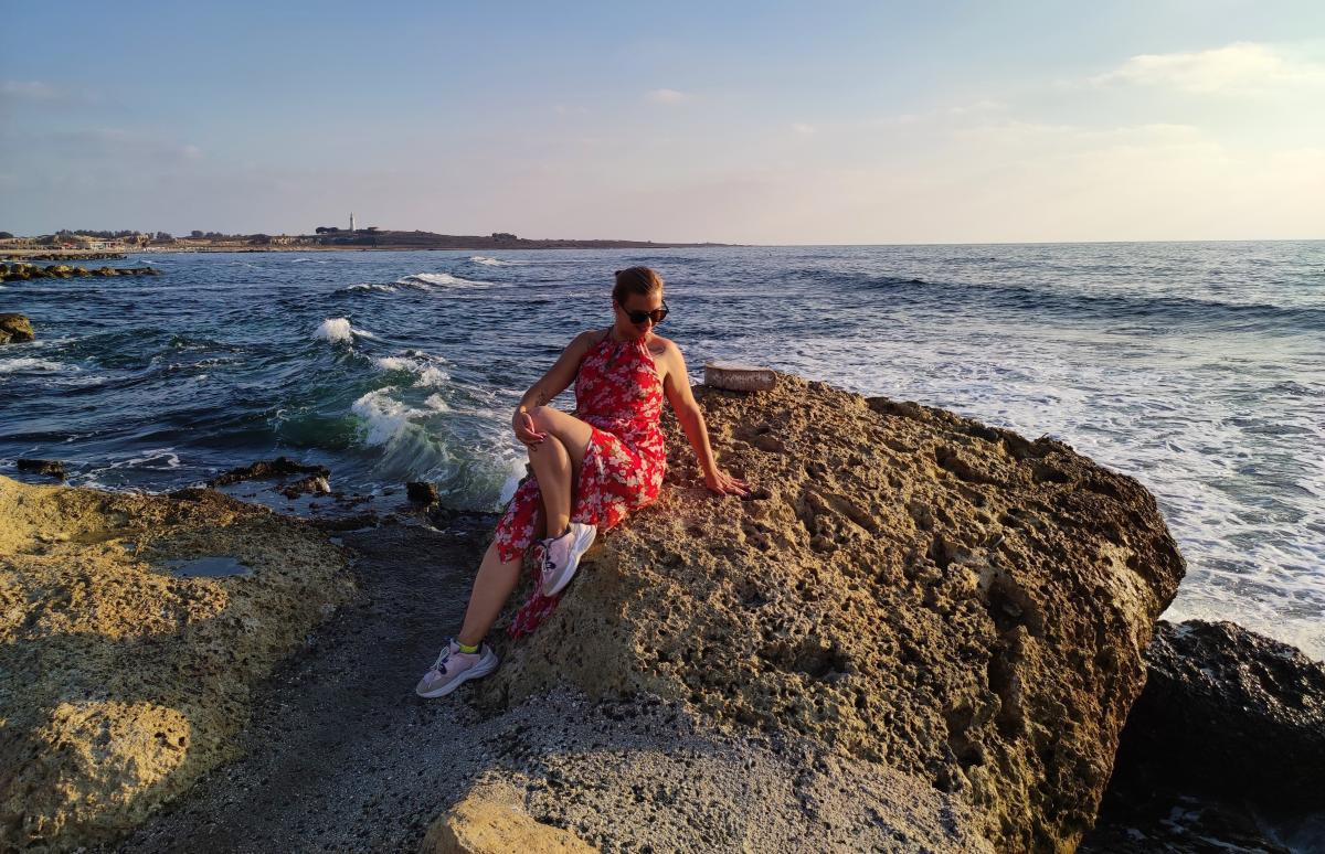 Зате пляжі Пафоса дуже інстаграмні / фото Марина Григоренко