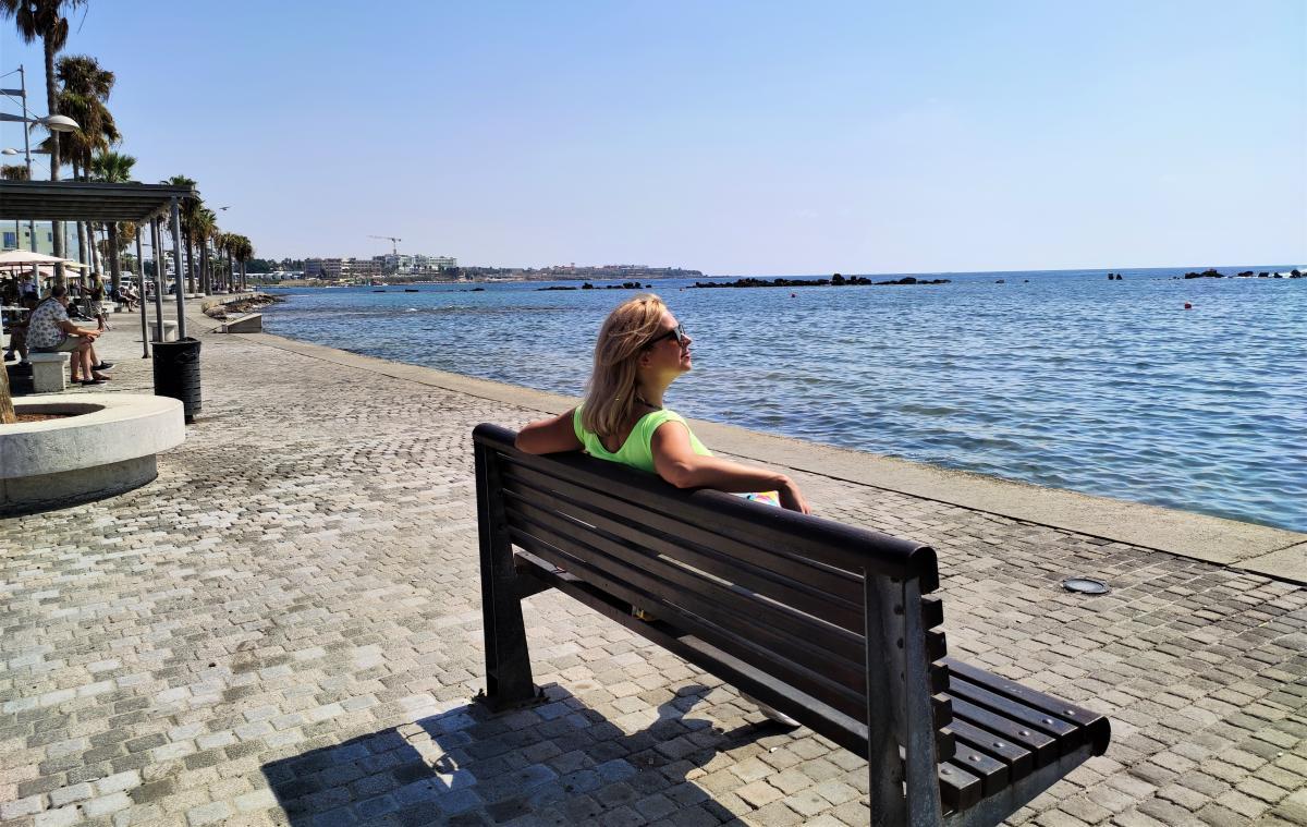 Кіпр ідеальний для того, щоб погрітися / фото Марина Григоренко
