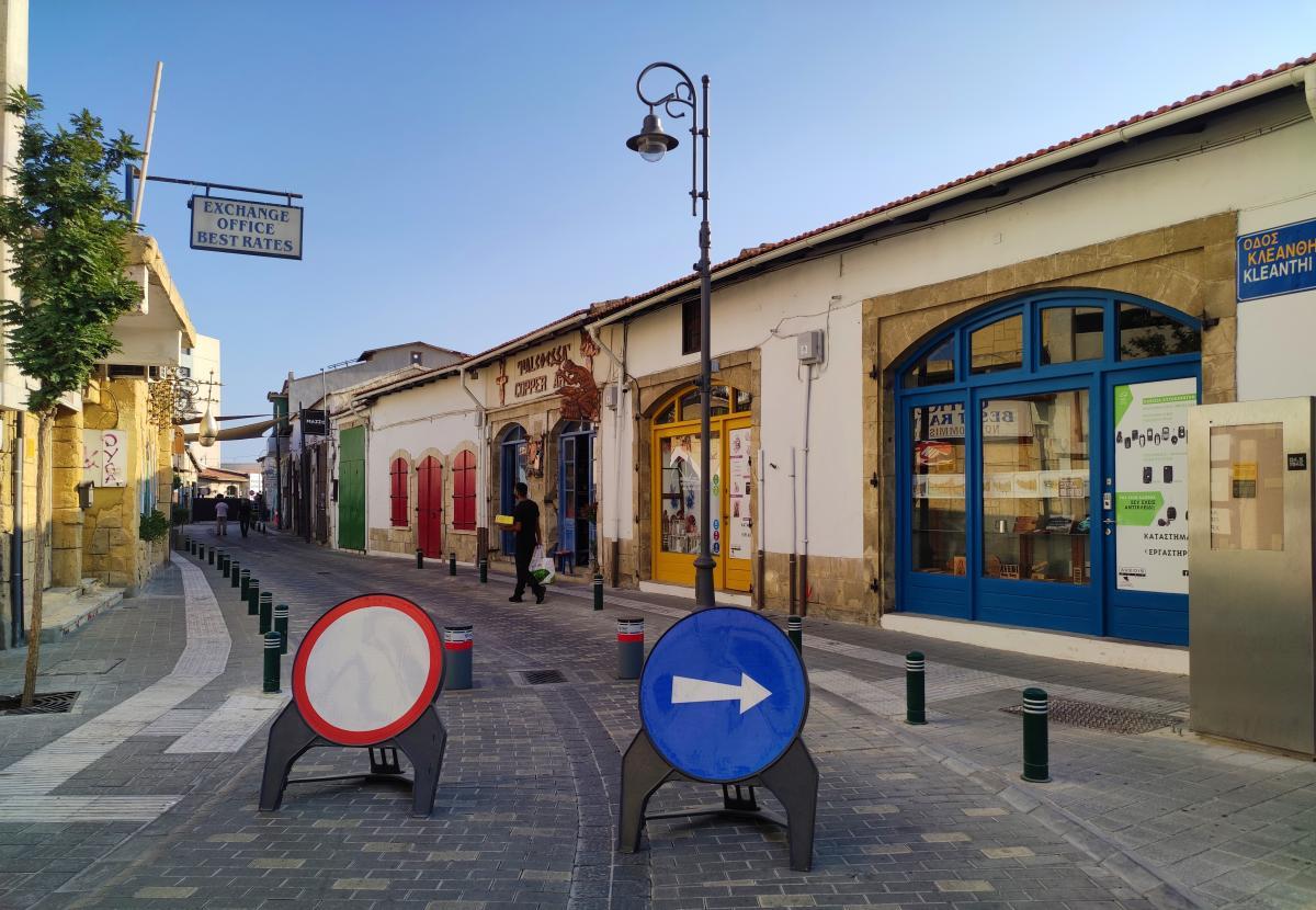 Туристичні вулички Ларнаки / фото Марина Григоренко