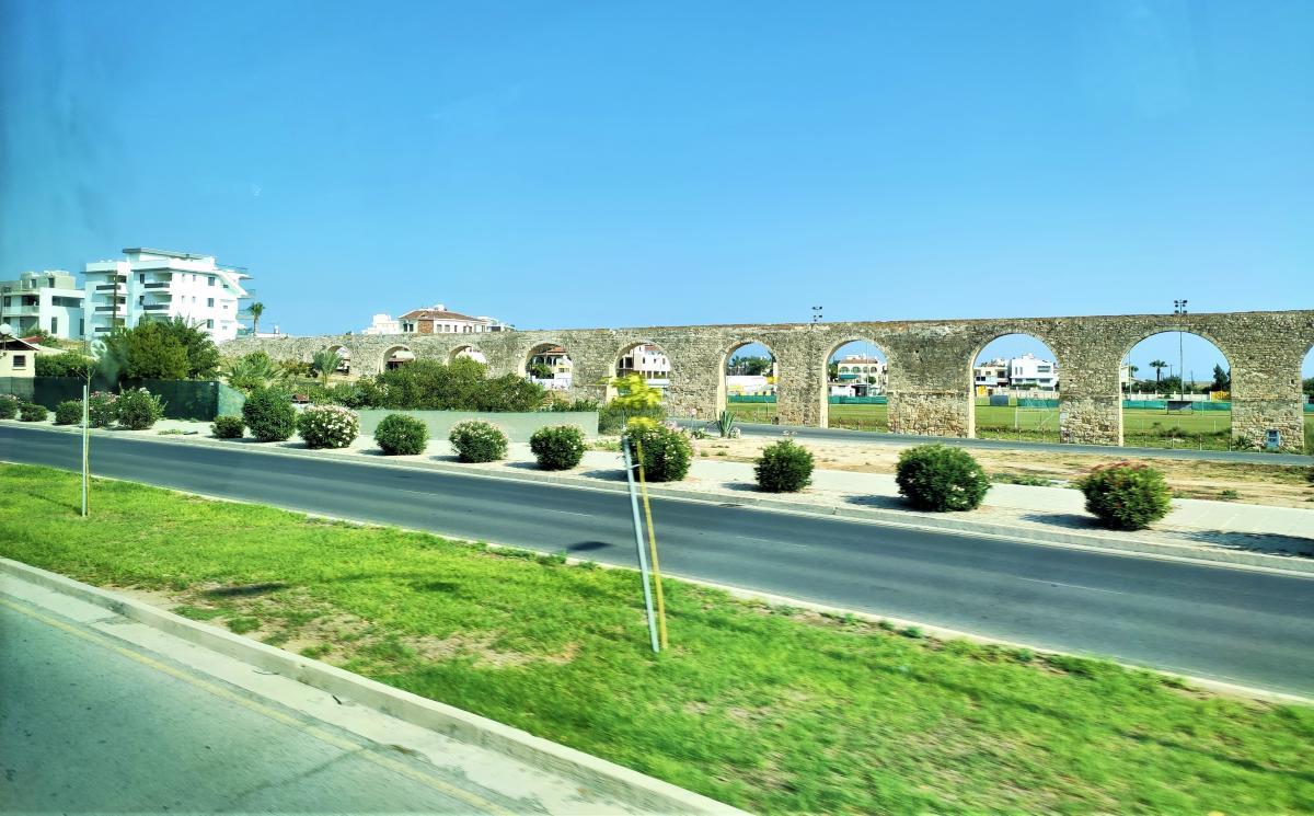 Акведук Камарес в Ларнаці / фото Марина Григоренко