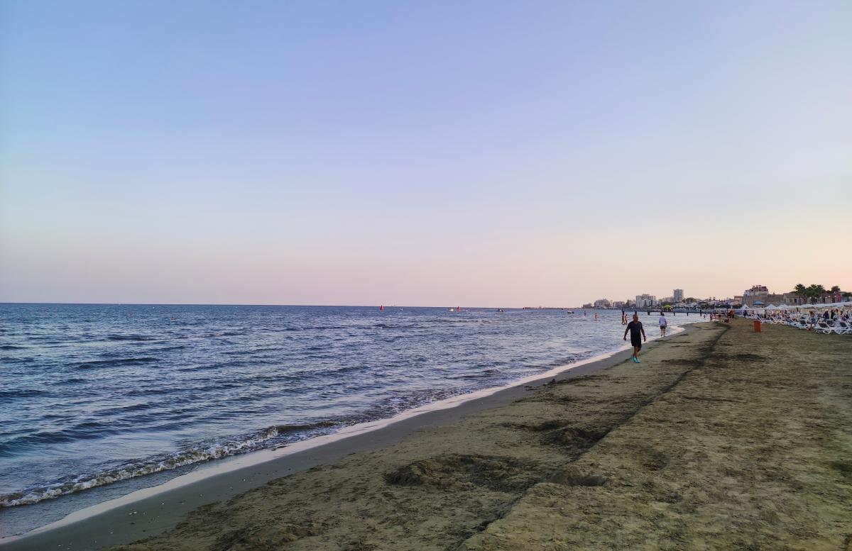 Пляж Фінікудес в Ларнаці / фото Марина Григоренко