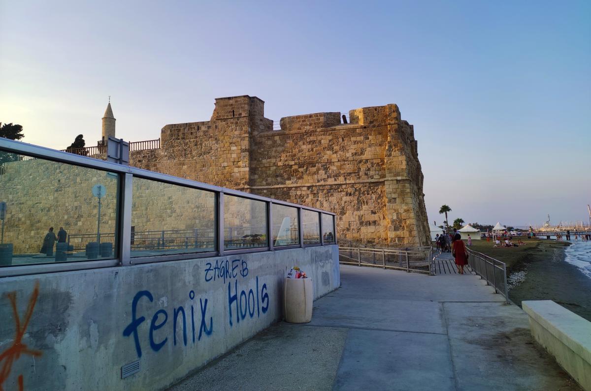 Середньовічний форт в Ларнаці / фото Марина Григоренко