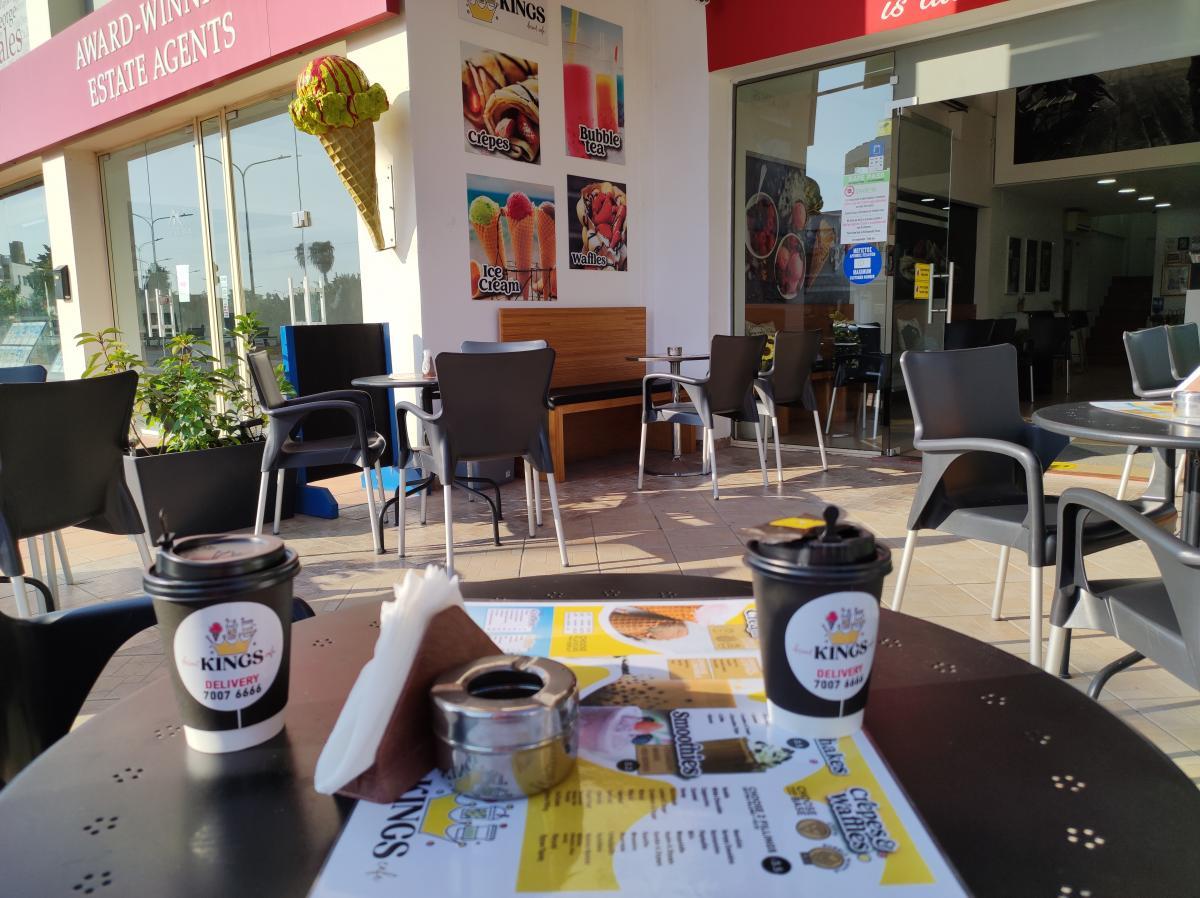 Kings Dessert Cafe в Пафосі / фото Марина Григоренко