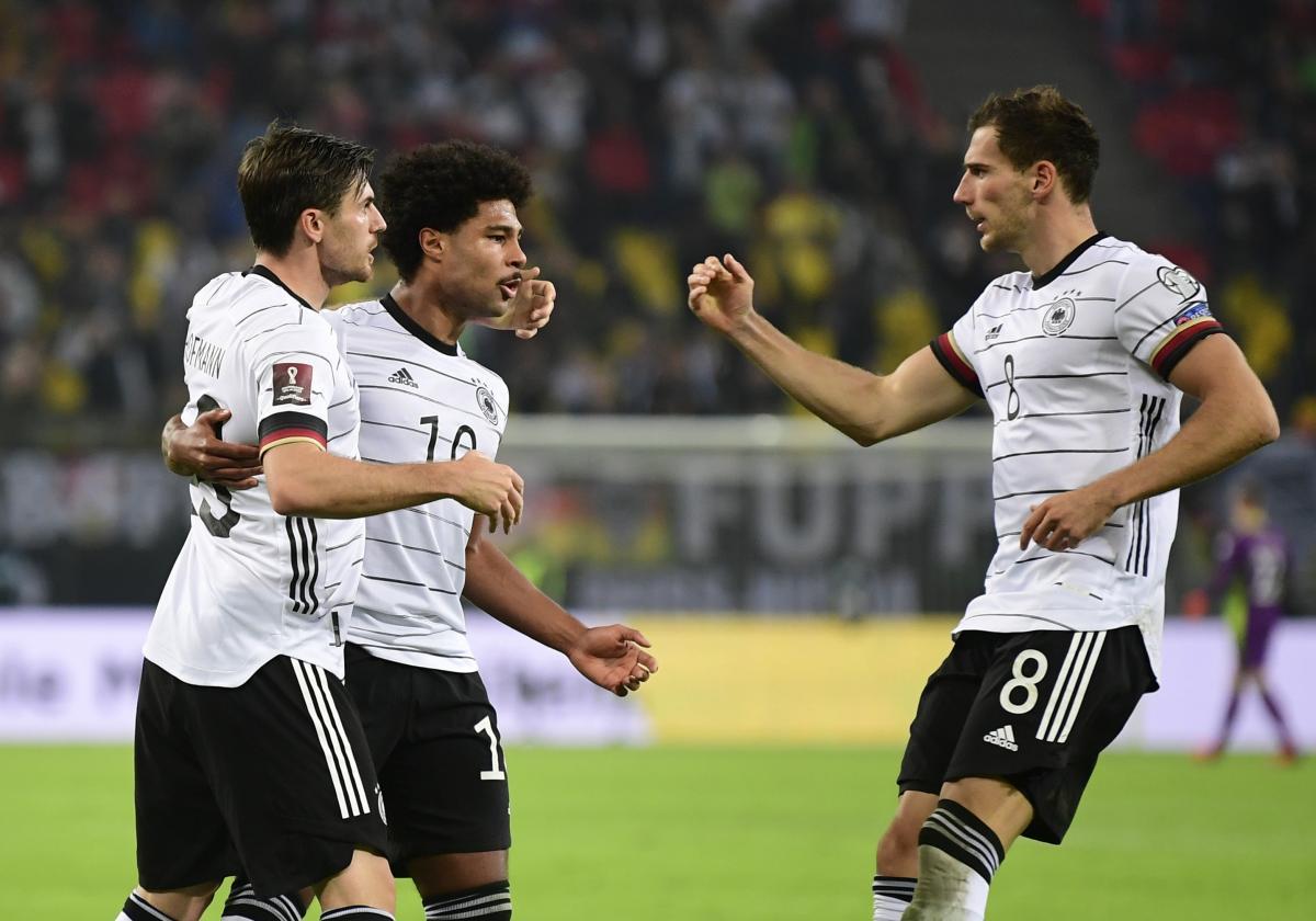 Сборная Германии в волевом стиле обыграла Румынию / фото REUTERS