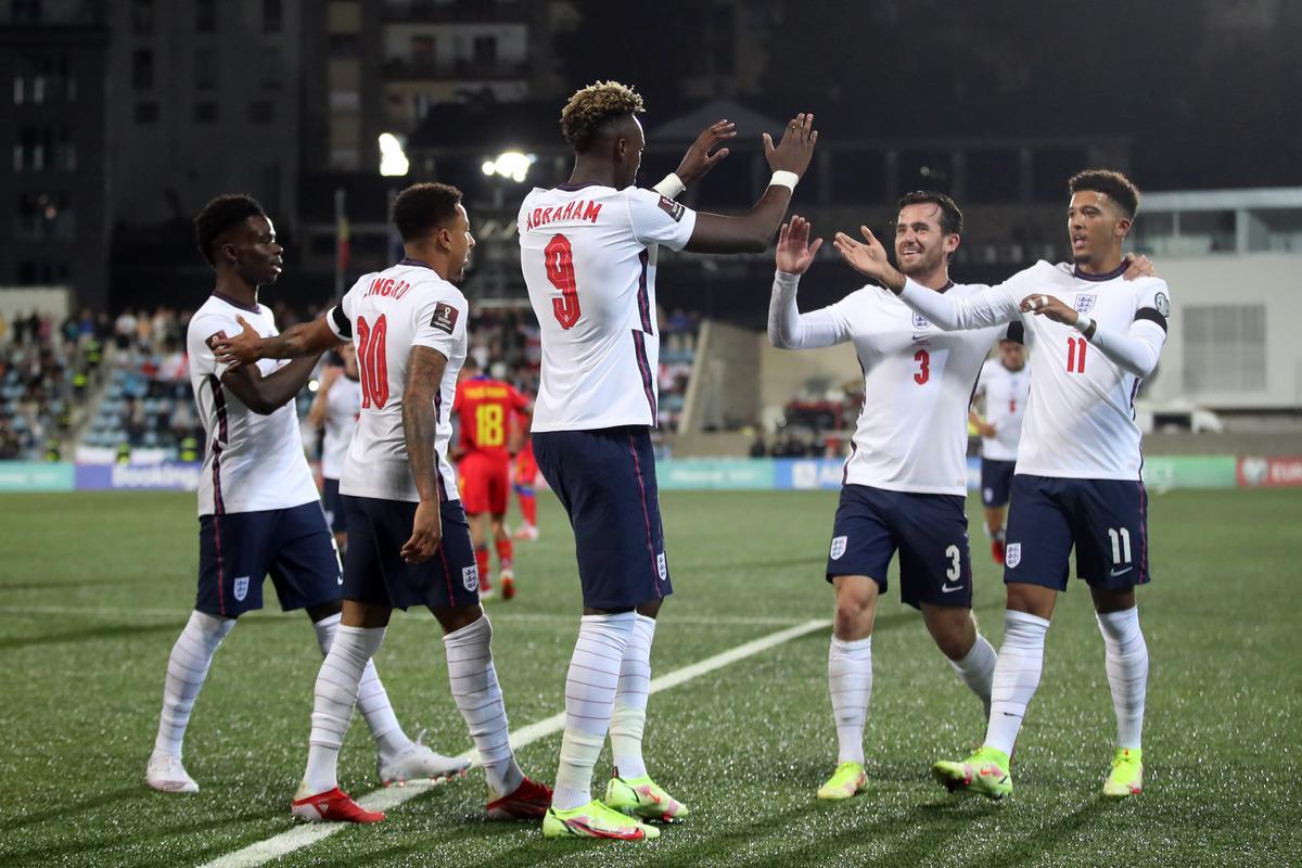 Збірна Англії розбила вщент Андорру / фото REUTERS