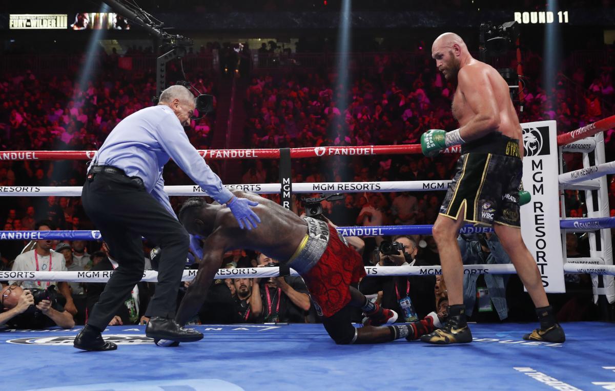 Тайсон Ф'юрі переміг Деонтея Вайлдера / фото REUTERS
