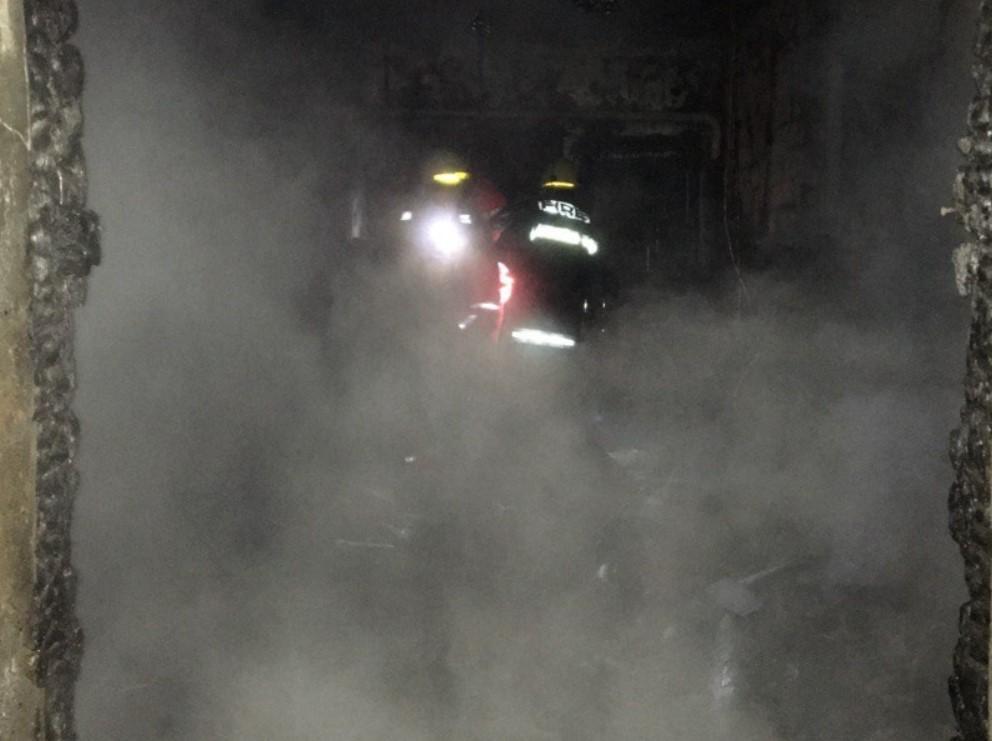 В пожаре погибла пожилая женщина и ее сын / фото пресс-служба ГСЧС Харьковской области