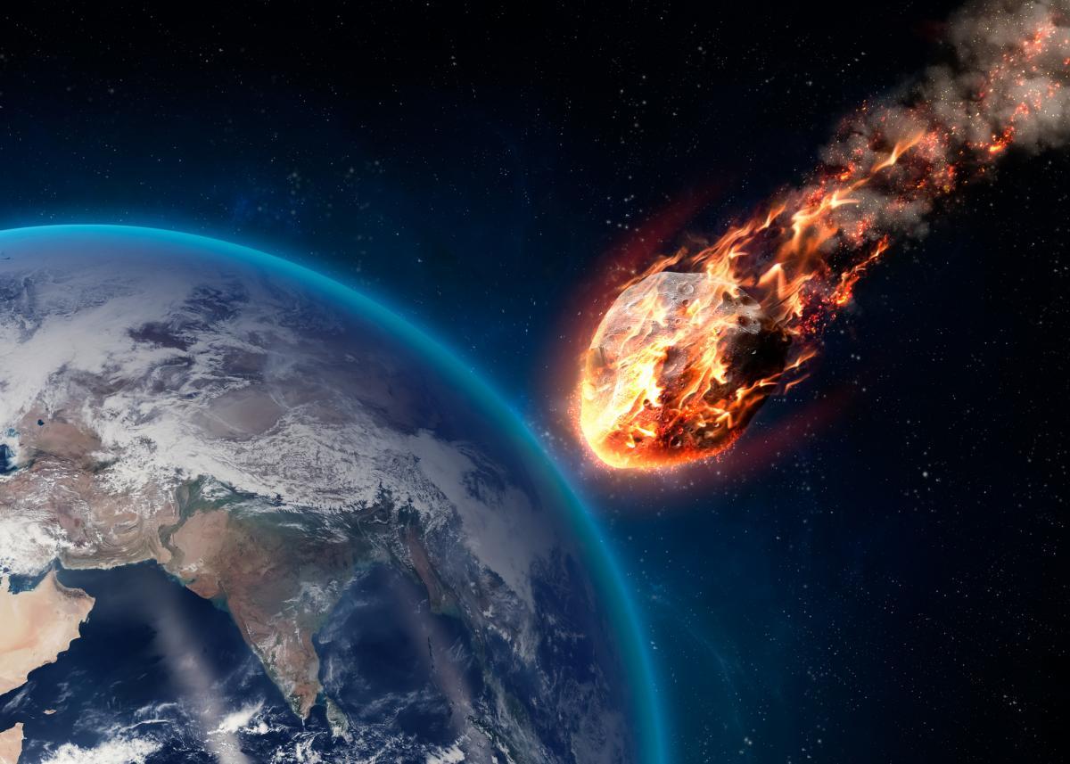 """Мимо Земли пролетит гигантский астероид-""""новичок""""/ фото ua.depositphotos.com"""