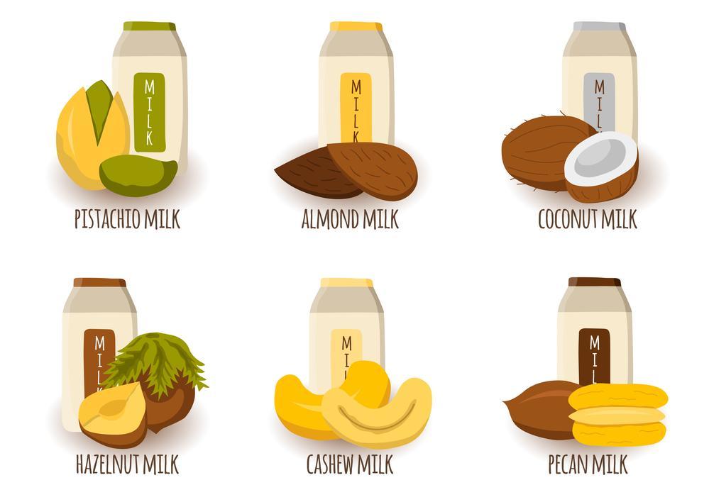 В Україні все більше виробляється та споживається молоко з рослин / фото ua.depositphotos.com