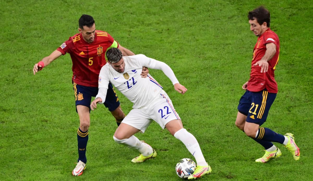Испания - Франция / фото REUTERS