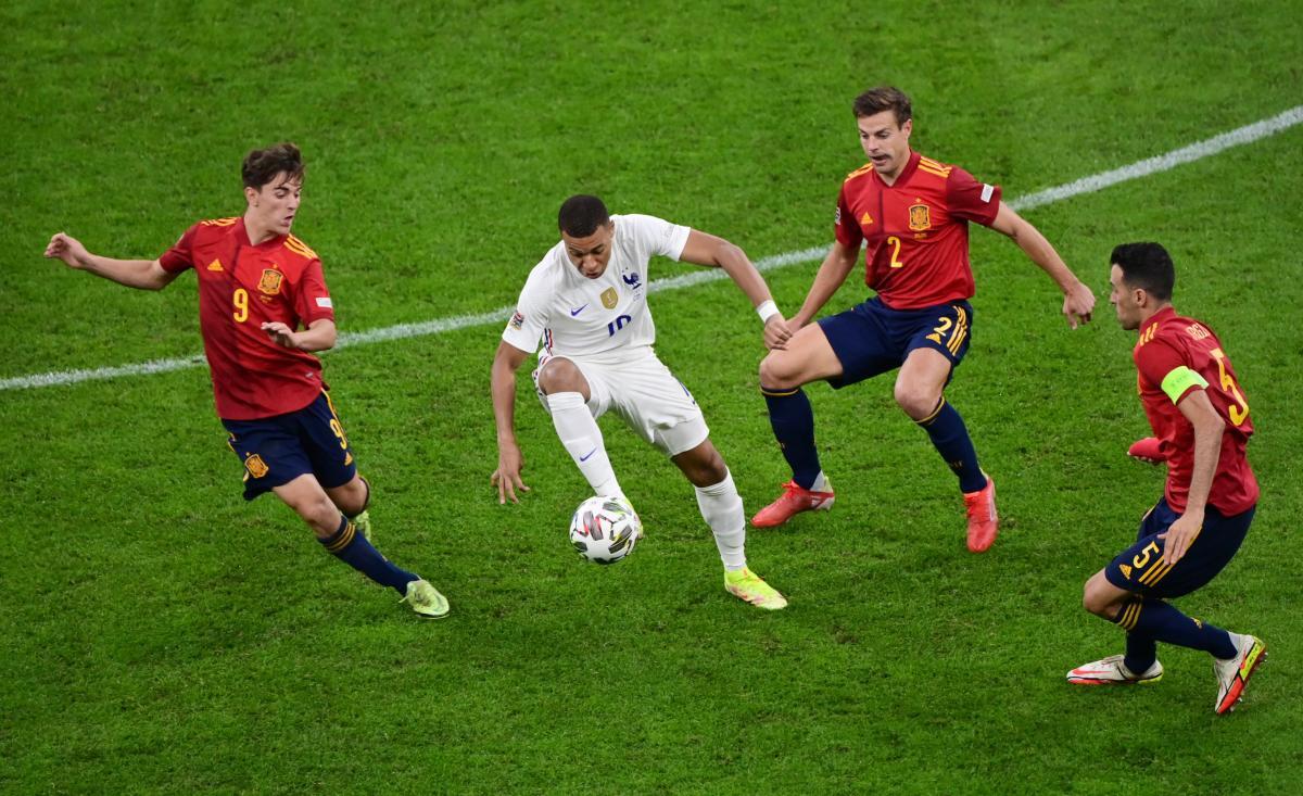 Килиан Мбаппе забил победный мяч / фото REUTERS