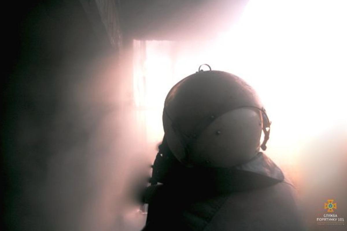 На Николаевщине после пожара в доме найдены мертвыми три человека / иллюстративное фото пресс-службы ГСЧС в Тернопольской области пожар