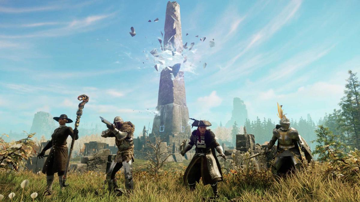 New World опинилася в центрі скандалу / фото Amazon Games