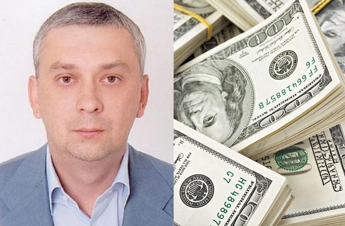 Глава ГАСИ Александр Рыбак рассказал, как зашил в потолок 2 миллиона долларов, а впоследствии заявил, что они пропали / коллаж УНИАН