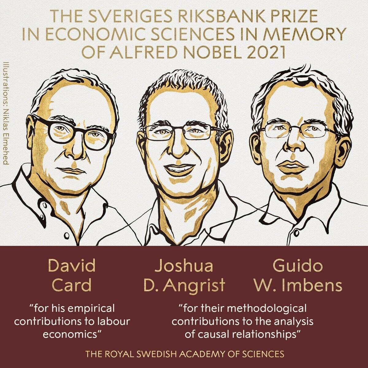 Лауреати Нобелівської премії з економіки / фото nobelprize.org