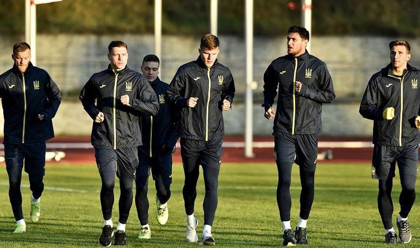 Футболисты сборной Украины / фото УАФ