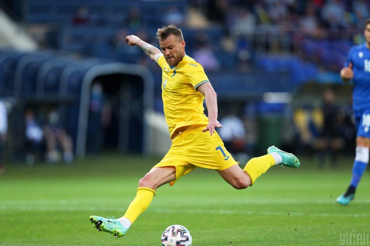 Андрей Ярмоленко - лидер сборной Украины / фото УНИАН