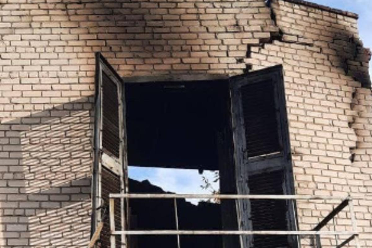 В сети сообщили о взрыве в Донецке / фото t.me/kulemzin_donetsk