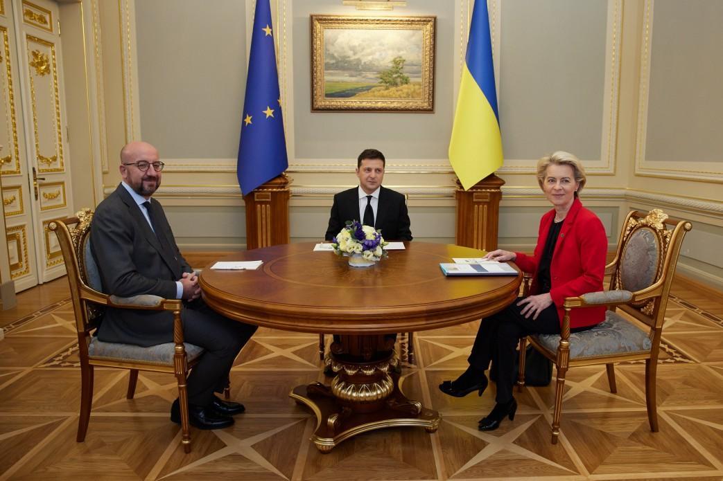 Україна та ЄС підписали угоду про Спільний авіаційний простір/фото прес-служба Офісу президента