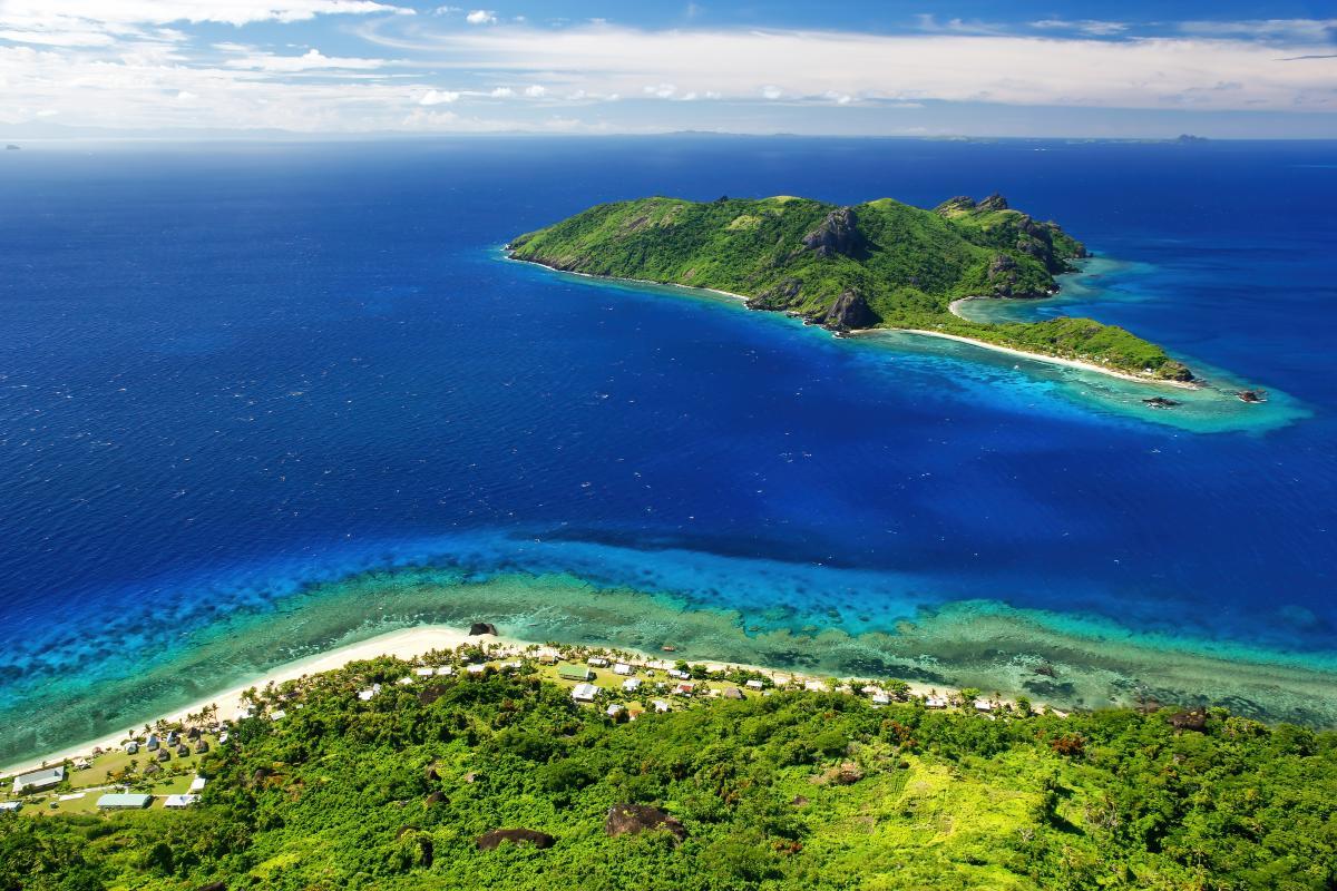 Фиджи представляет собой группу островов / фото ua.depositphotos.com