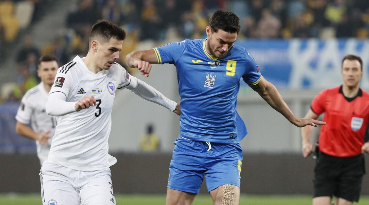 Украина - Босния и Герцеговина / фото REUTERS