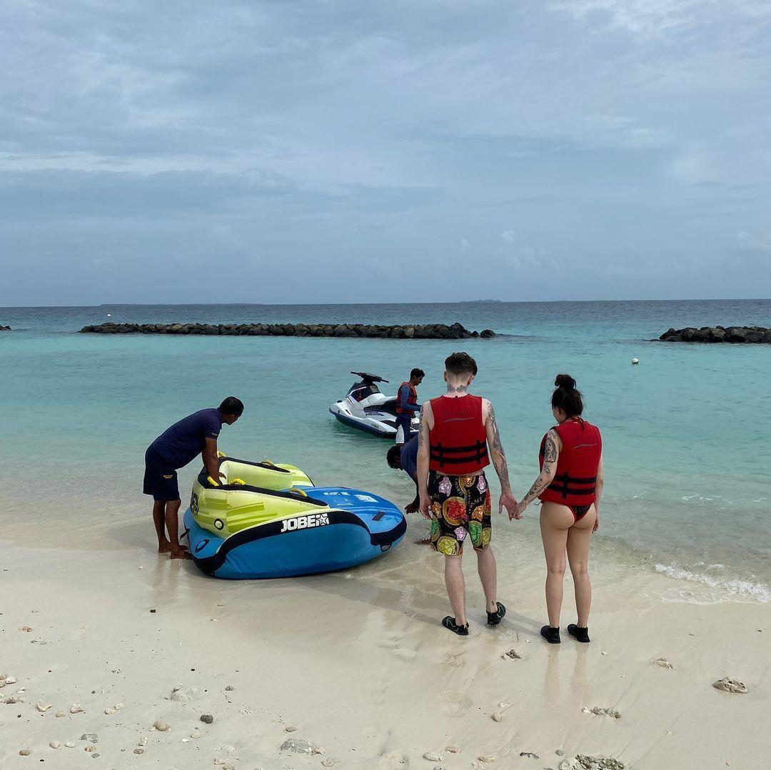 Інстасамка відпочиває на Мальдівах / instagram.com/instasamka