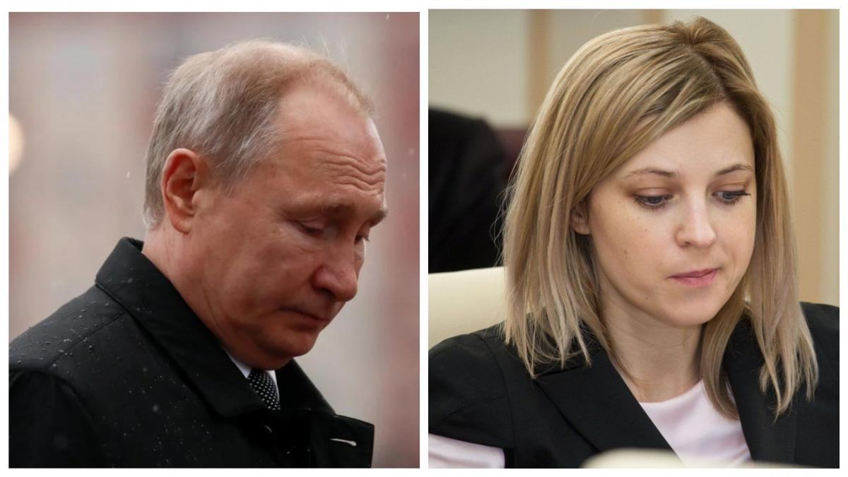 Поклонская говорит, что решением Путина довольна / коллаж УНИАН
