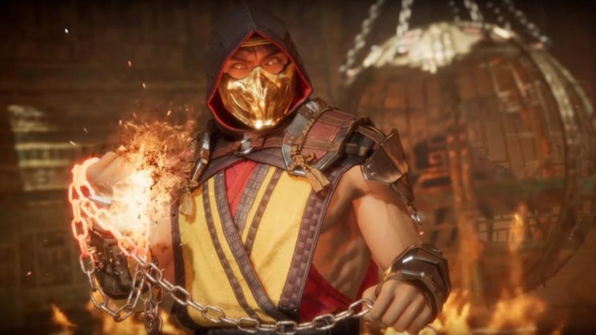 Скорпіон в Mortal Kombat 11 / фото PlayStation LifeStyle