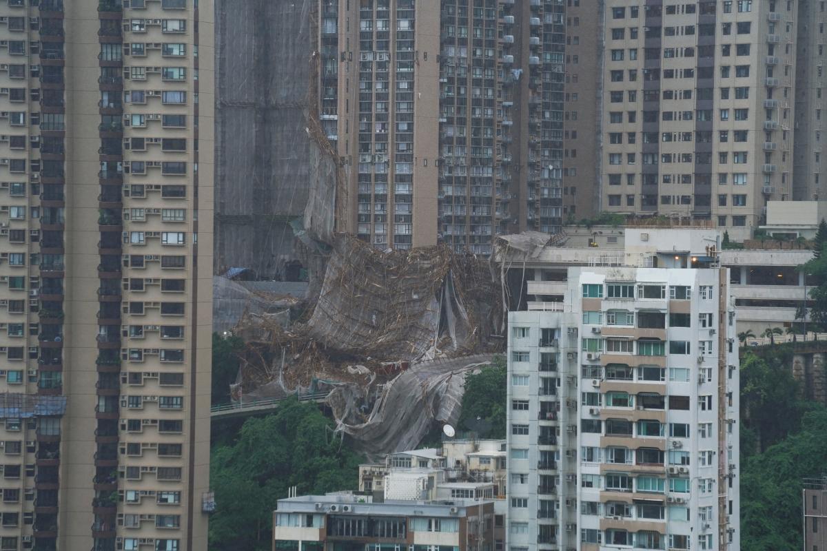 Тайфун у Гонконзі / фото REUTERS
