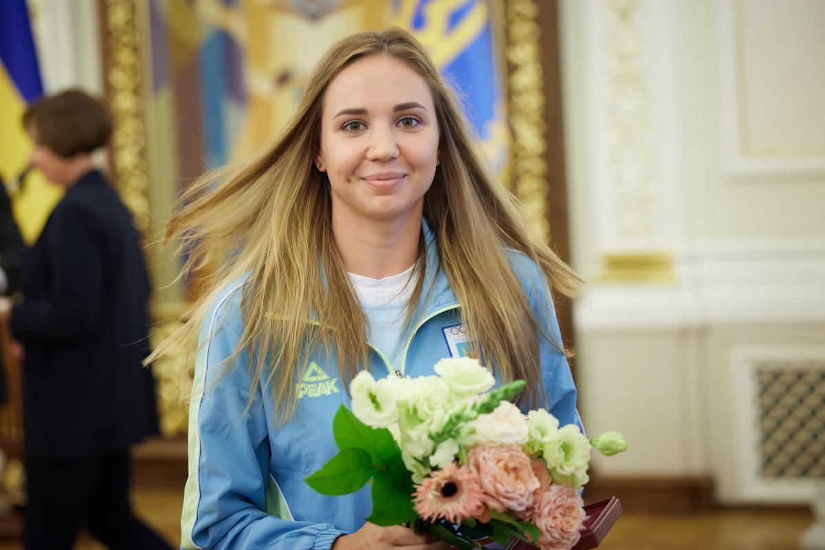 Аліна Шинкаренко попрощалася зі спортом / фото НОК