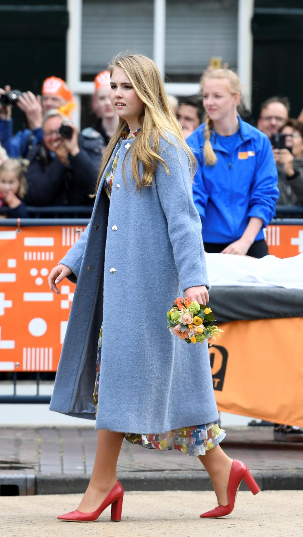 Крон-принцесса Катарина-Амалия / фото REUTERS