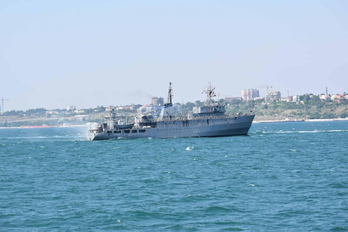 Корабль вернулся в пункт постоянной дислокации в Одессе / фото ВМС Украины
