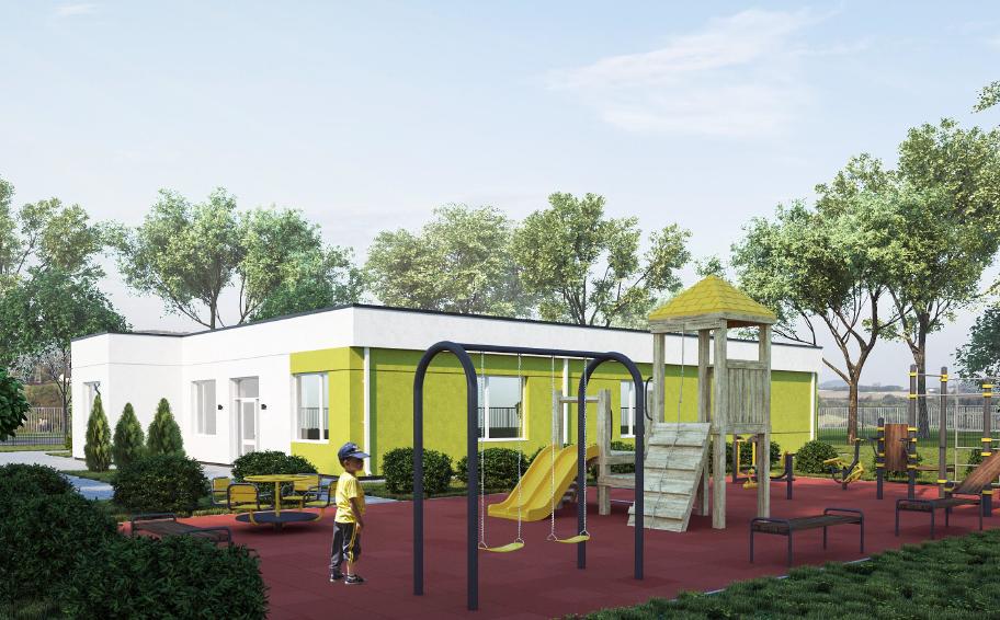 У Дніпропетровській області за програмою Зеленського зводять сьомий будинок для дітей-сиріт / фото adm.dp.gov.ua