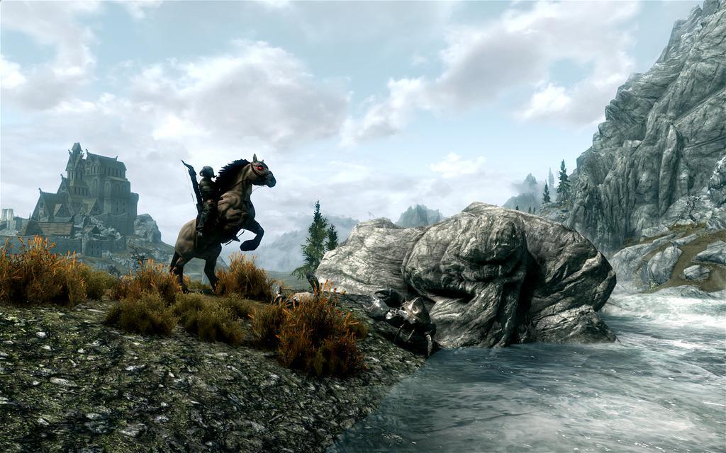 Гравець прокачався в Skyrim до 241 рівня в стартовій локації / фото DSOGaming