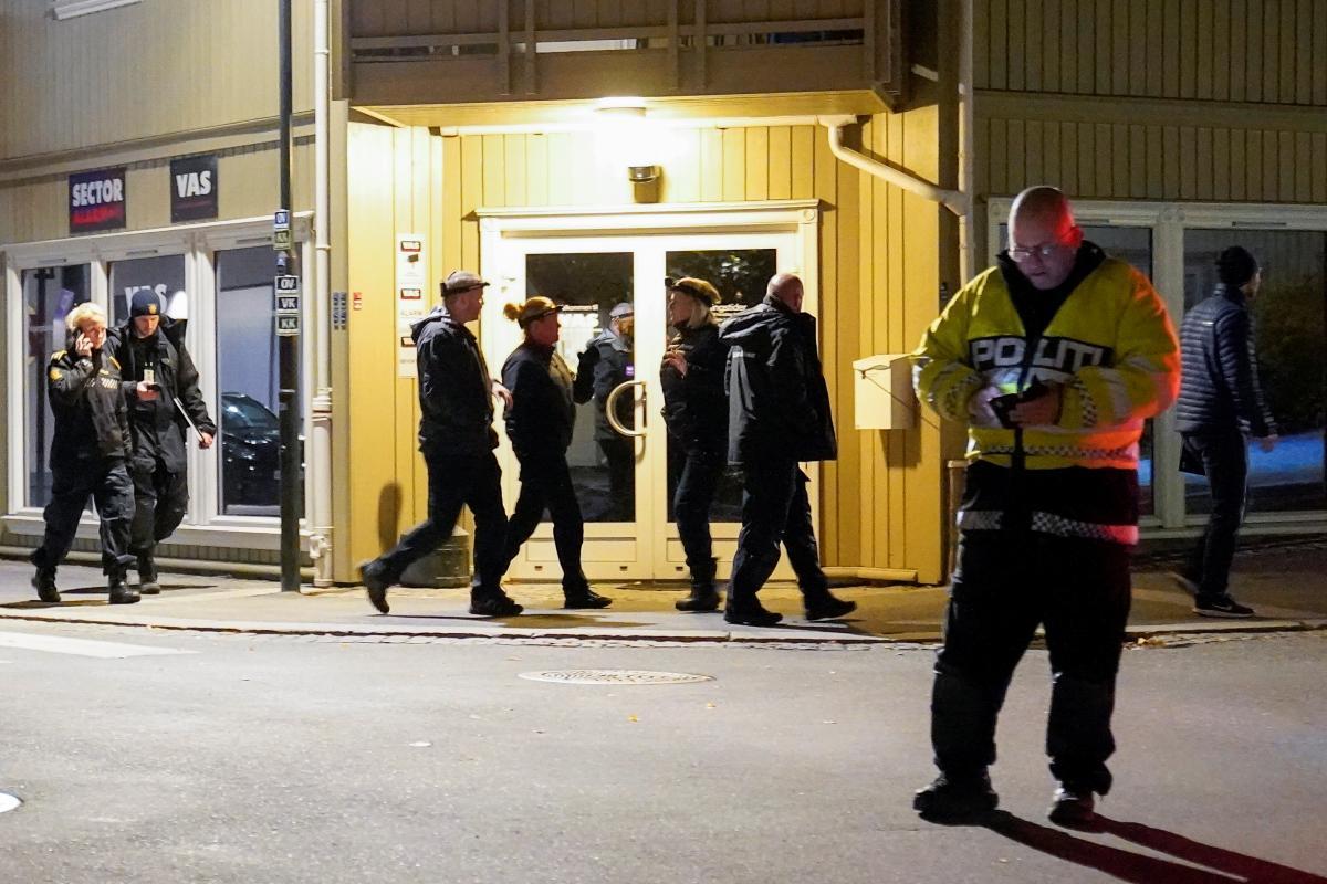 Кунгсберг спрямовані додаткові сили, включаючи поліцейські підрозділи з Осло \ фото REUTERS