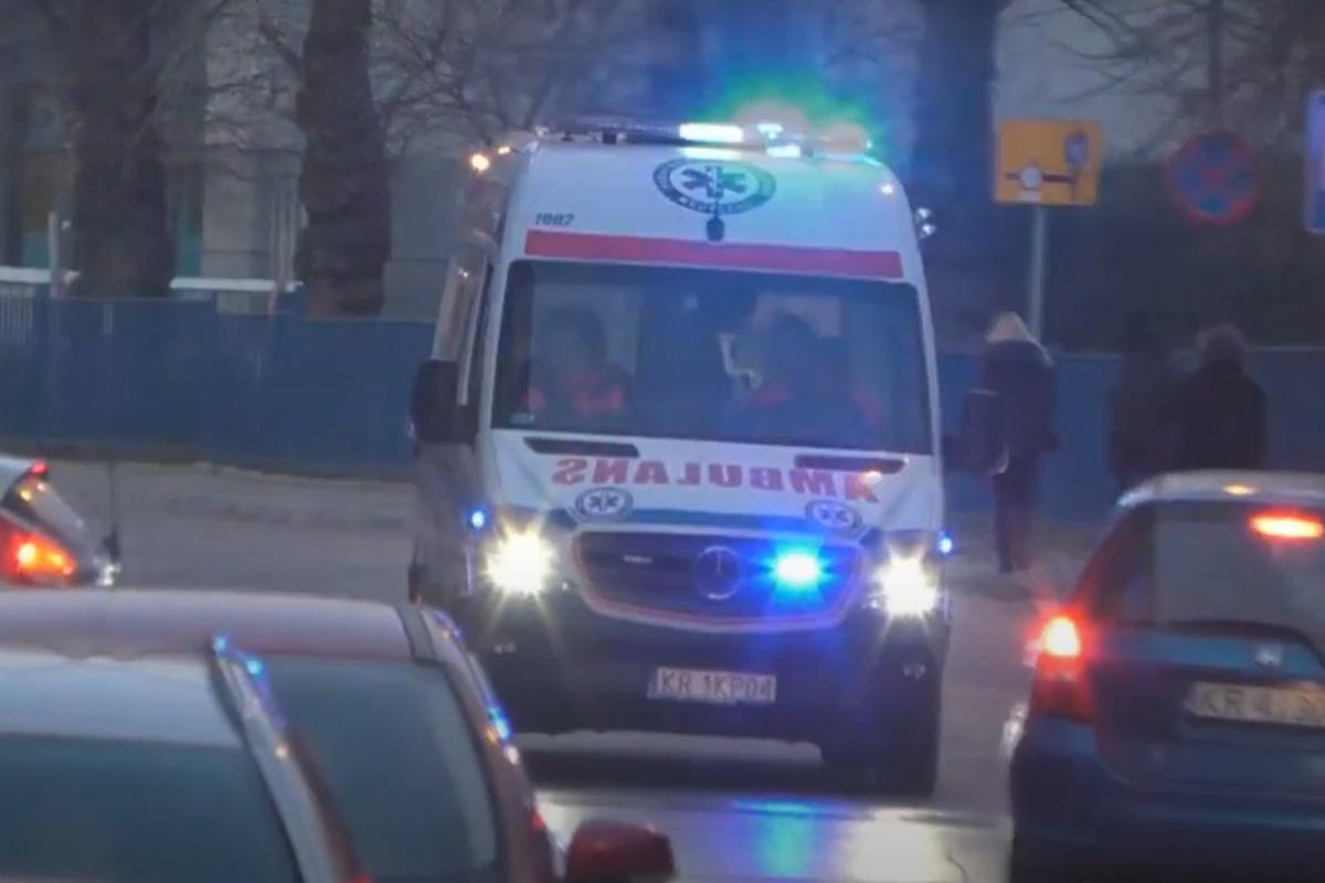 В Польше в результате ДТП пострадали пятеро украинцев / Скриншот