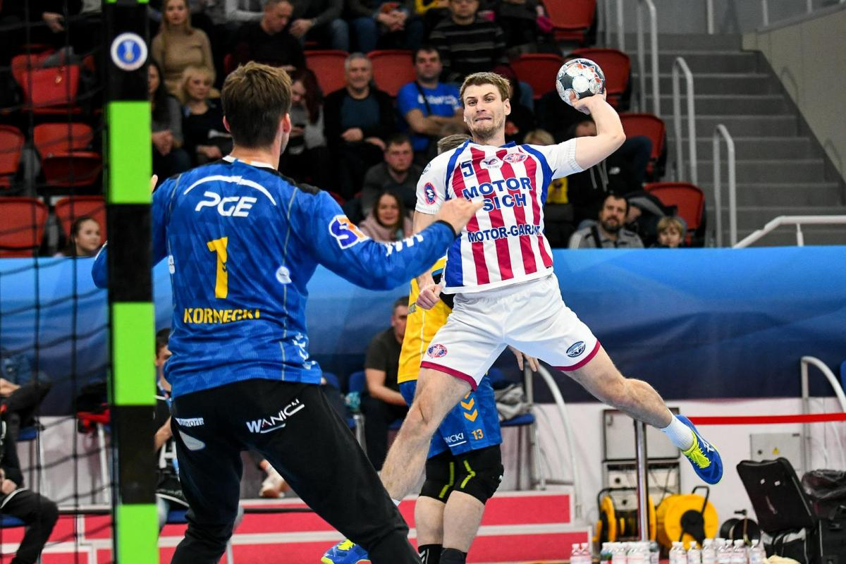 Мотор програв на виїзді / фото handball.motorsich.com
