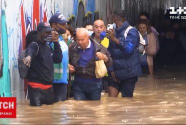 Афины затопило из-за мощных ураганов